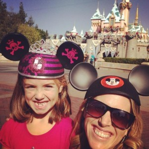 Kenzie Mom Disneyland