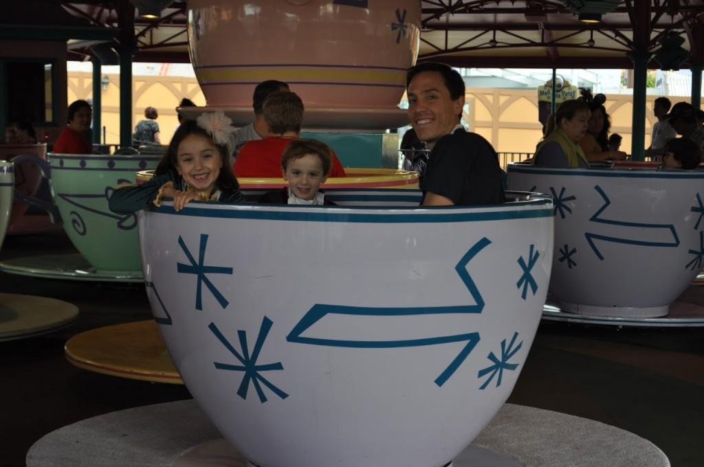 Teacups at Disney