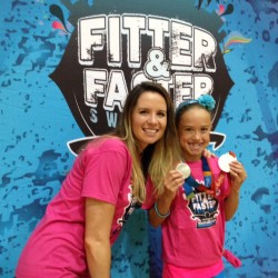 I Met an Olympian Swimmer! #OnlyatFFT @FitterandFaster